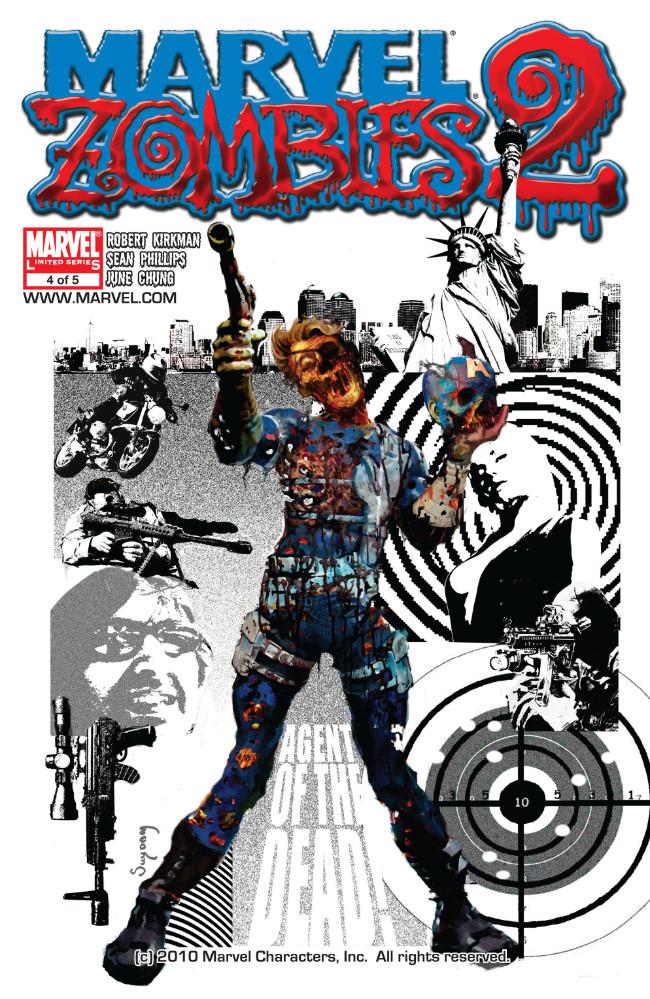 Couverture de Marvel Zombies Vol.2 (Marvel Comics - 2007) -4- Issue # 4