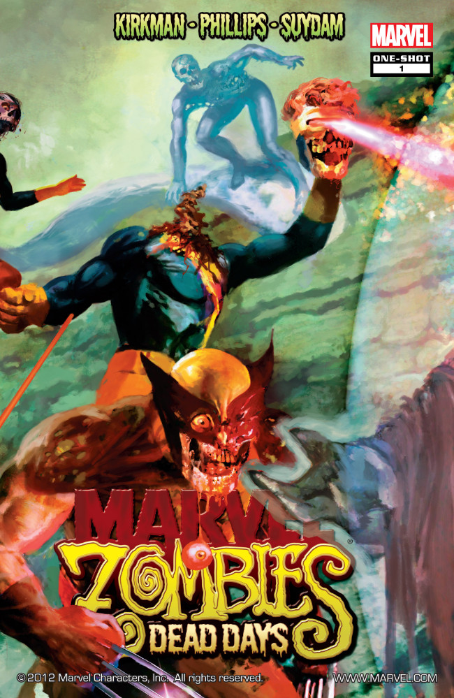 Couverture de Marvel Zombies Vs. Army of Darkness (Marvel/Dynamite - 2007) -HS- Dead Days