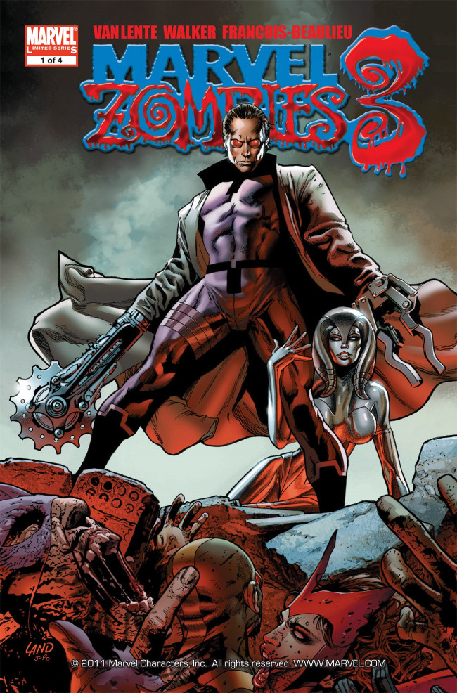 Couverture de Marvel Zombies Vol.3 (Marvel Comics - 2008) -1- Issue # 1