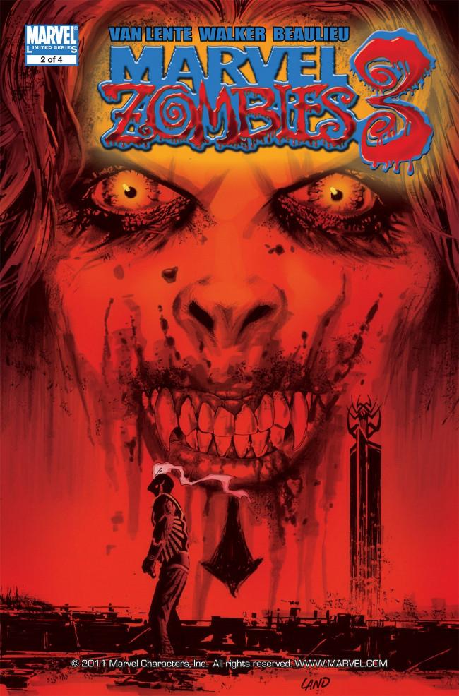 Couverture de Marvel Zombies Vol.3 (Marvel Comics - 2008) -2- Issue # 2