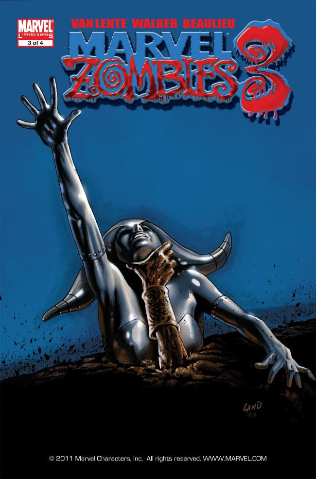 Couverture de Marvel Zombies Vol.3 (Marvel Comics - 2008) -3- Issue # 3