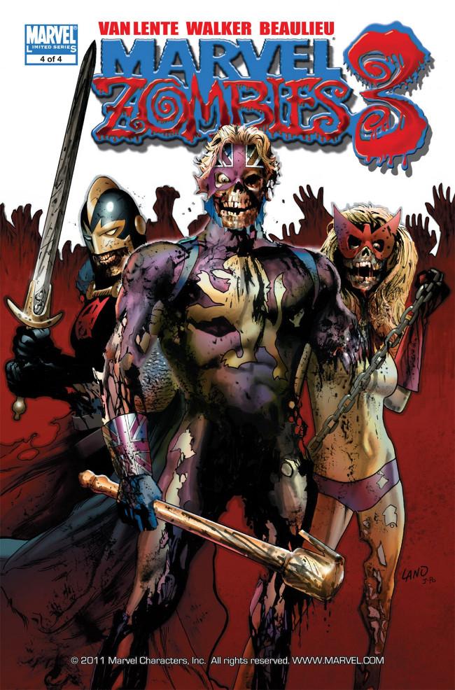 Couverture de Marvel Zombies Vol.3 (Marvel Comics - 2008) -4- Issue # 4