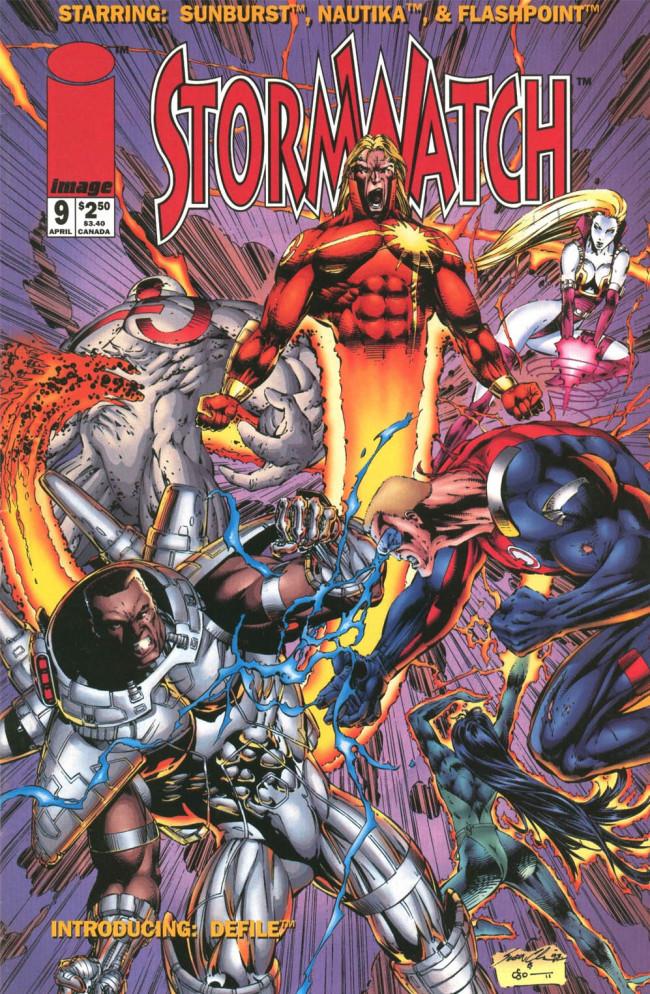 Couverture de StormWatch (1993) -9- #9
