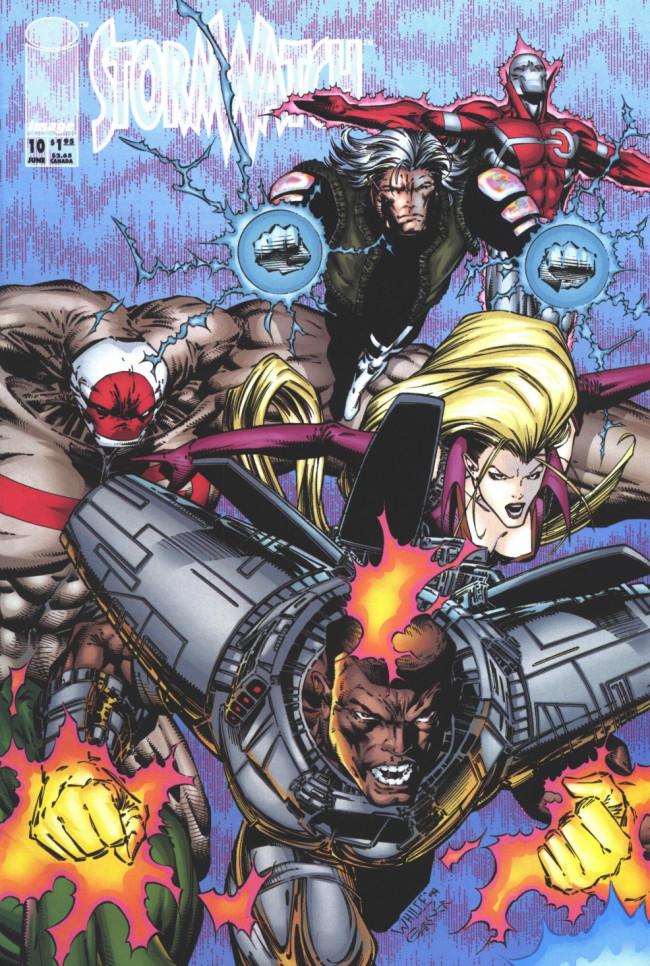 Couverture de StormWatch (1993) -10- #10