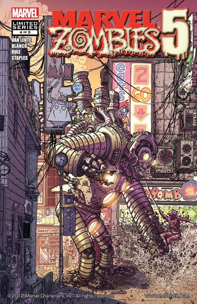 Couverture de Marvel Zombies Vol.5 (Marvel Comics - 2010) -4- Issue # 4