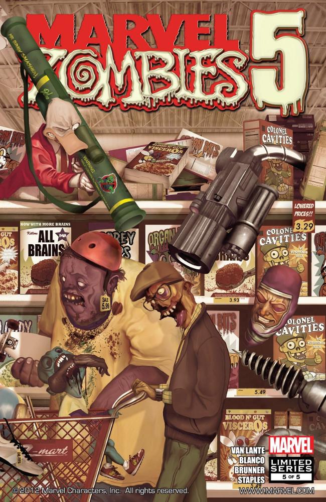 Couverture de Marvel Zombies Vol.5 (Marvel Comics - 2010) -5- Issue # 5