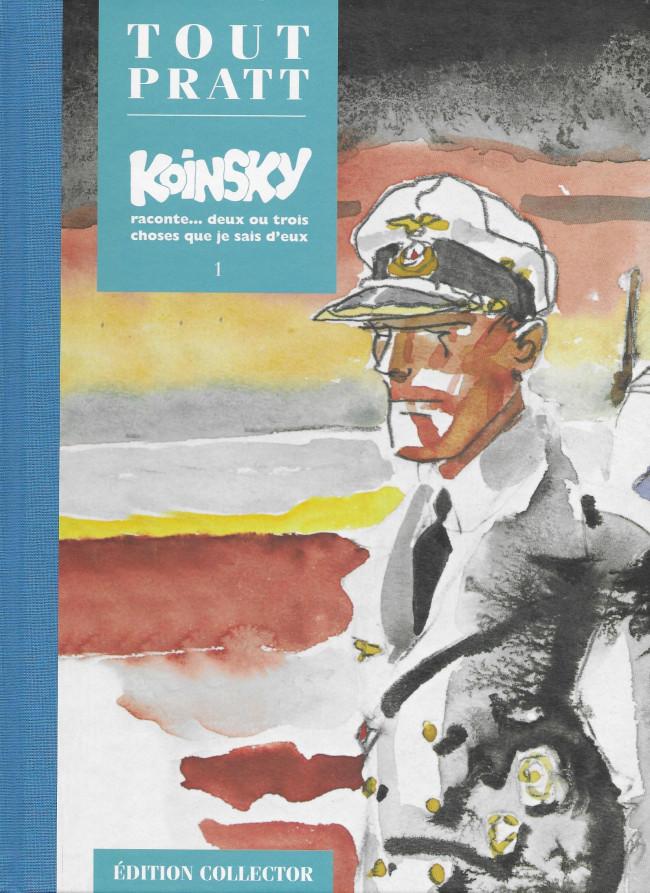 Couverture de Tout Pratt (collection Altaya) -29- Koinsky raconte... deux ou trois choses que je sais d'eux 1