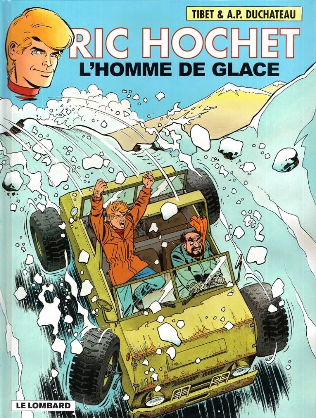 Couverture de Ric Hochet -69- L'homme de glace