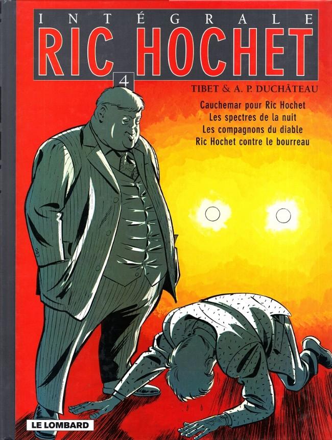 Couverture de Ric Hochet (Intégrale) -4- Tome 4