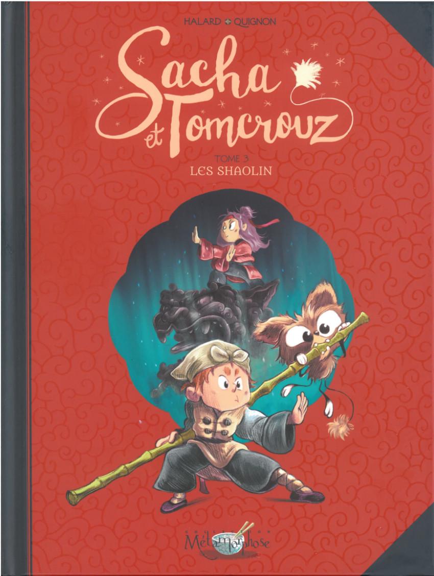 Couverture de Sacha et Tomcrouz -3- Les Shaolin
