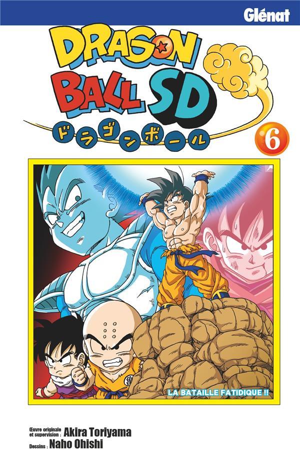 Couverture de Dragon Ball SD -6- Tome 6