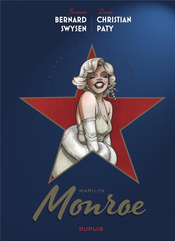 Couverture de Les Étoiles de l'histoire -2- Marilyn Monroe