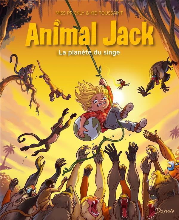 Couverture de Animal jack -3- La planète du singe