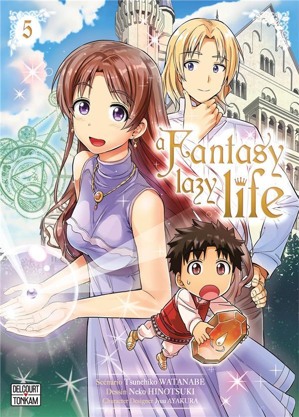 Couverture de A Fantasy lazy life -5- Volume 5