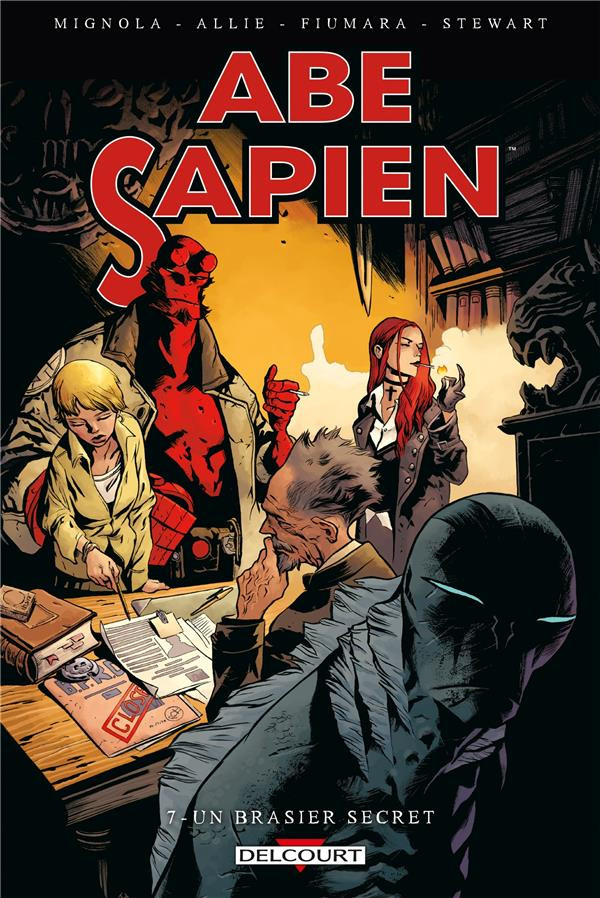 Couverture de Abe Sapien -7- Le Brasier secret