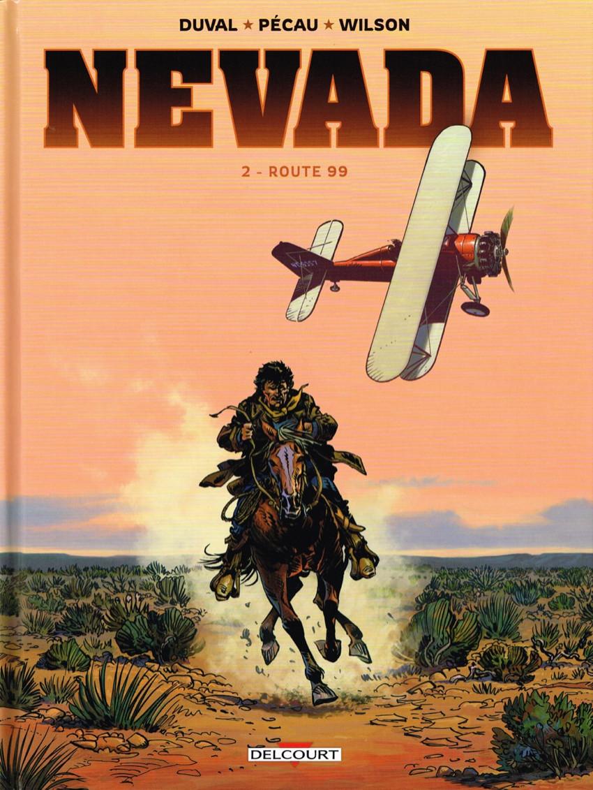 Couverture de Nevada (Duval/Pécau/Wilson) -2- Route 99