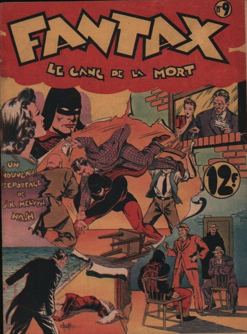 Couverture de Fantax (1re série) -9- Le Gang de la Mort
