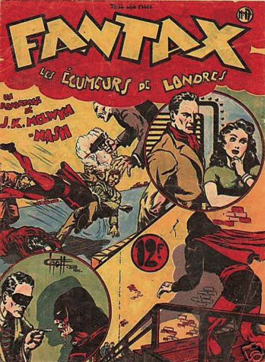Couverture de Fantax (1re série) -17- Les Écumeurs de Londres