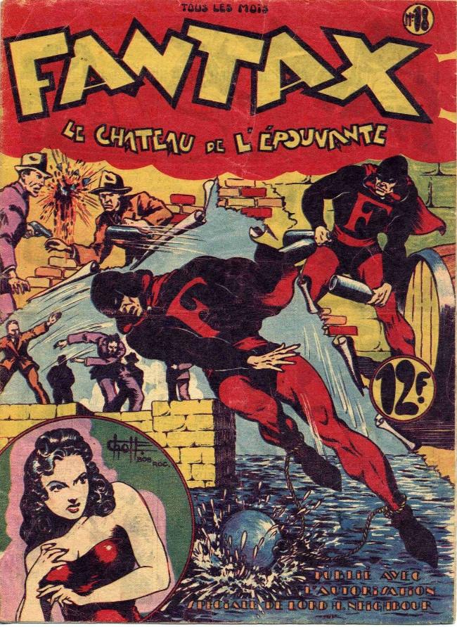 Couverture de Fantax (1re série) -18- Le Château de l'Épouvante