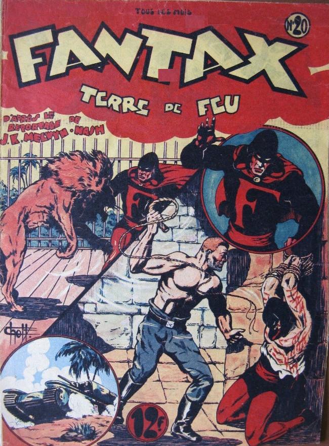 Couverture de Fantax (1re série) -20- Terre de Feu