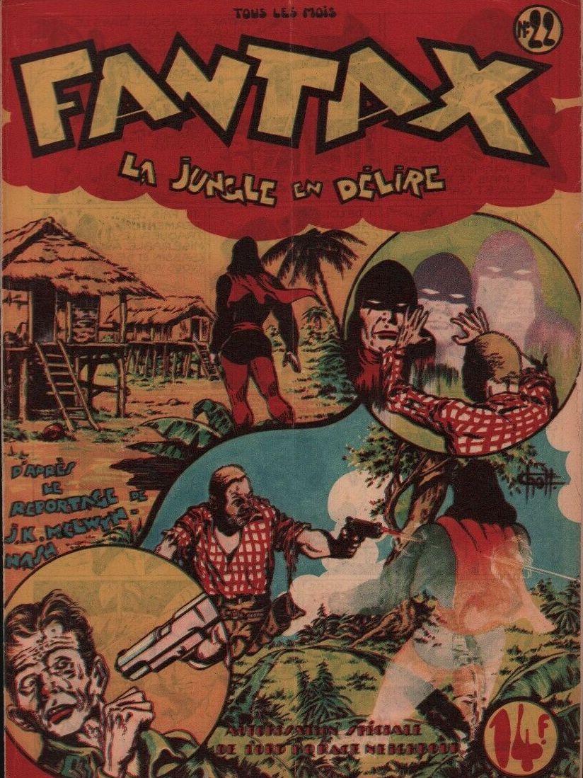 Couverture de Fantax (1re série) -22- La Jungle en Délire