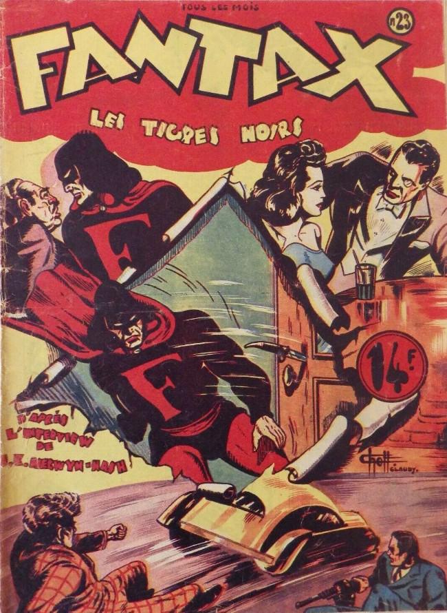 Couverture de Fantax (1re série) -23- Les Tigres Noirs