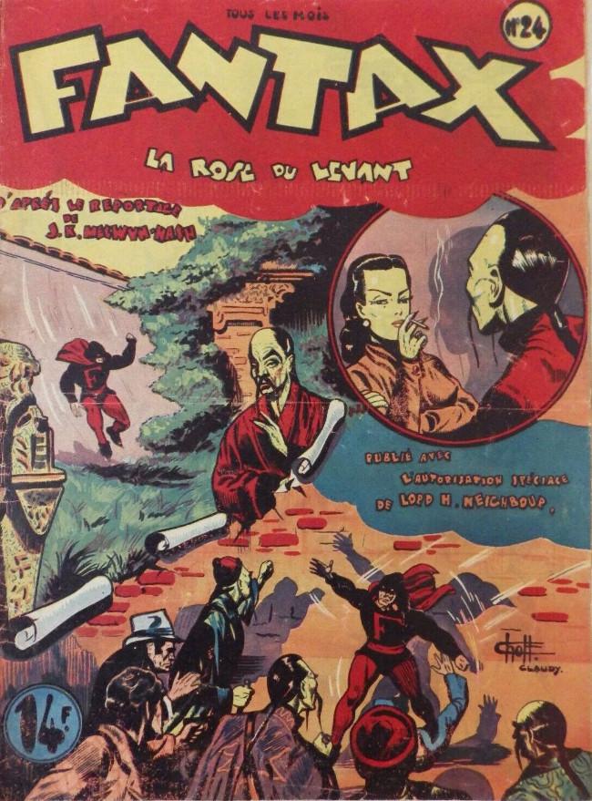 Couverture de Fantax (1re série) -24- La Rose du Levant
