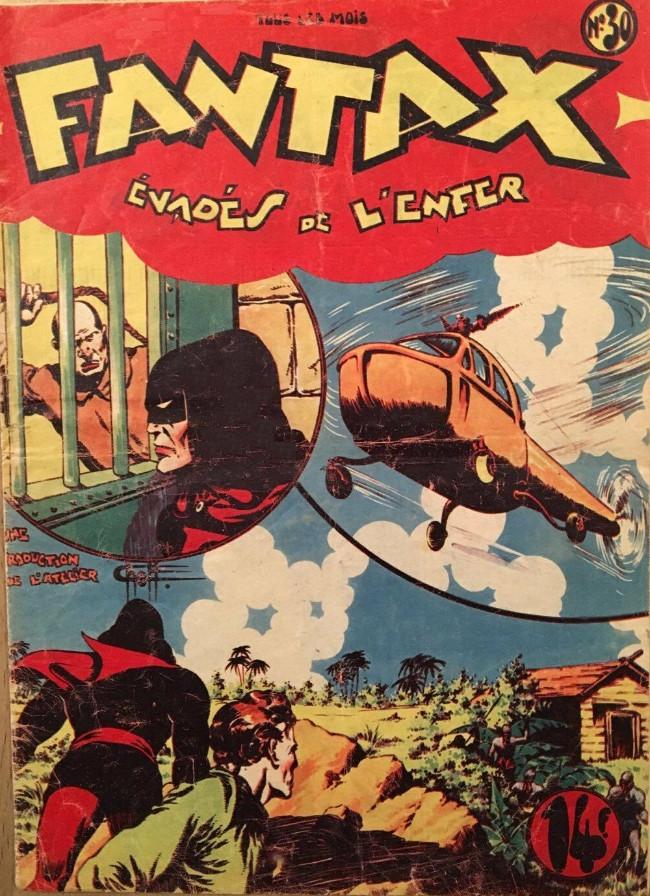 Couverture de Fantax (1re série) -30- Évadés de L'Enfer