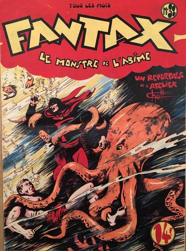 Couverture de Fantax (1re série) -32- Le Monstre de L'Abîme