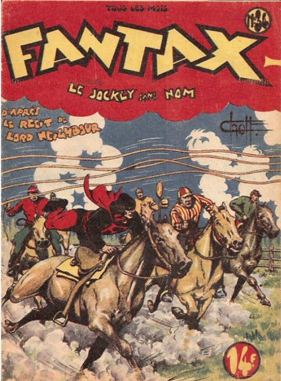 Couverture de Fantax (1re série) -34- Le Jockey sans Nom