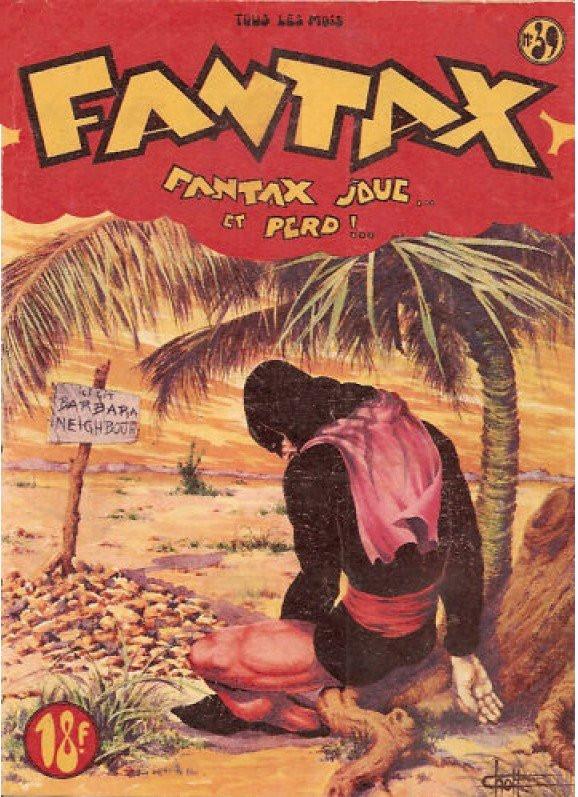 Couverture de Fantax (1re série) -39- Fantax joue... et perd !..