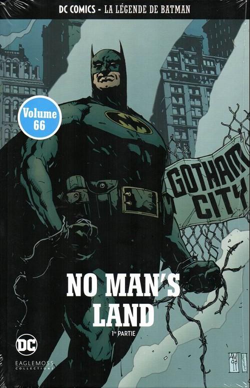 Couverture de DC Comics - La légende de Batman -66- No man's land - 1re partie