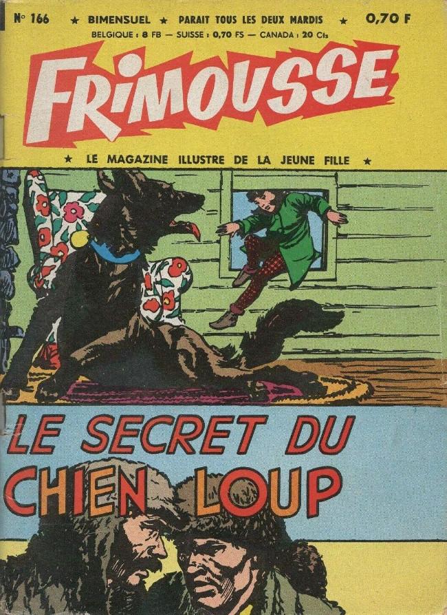 Couverture de Frimousse et Frimousse-Capucine -166- Le secret du chien-loup