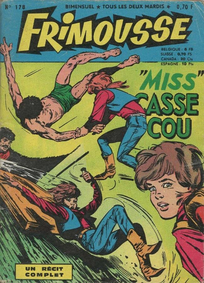 Couverture de Frimousse et Frimousse-Capucine -178- Miss Casse-cou