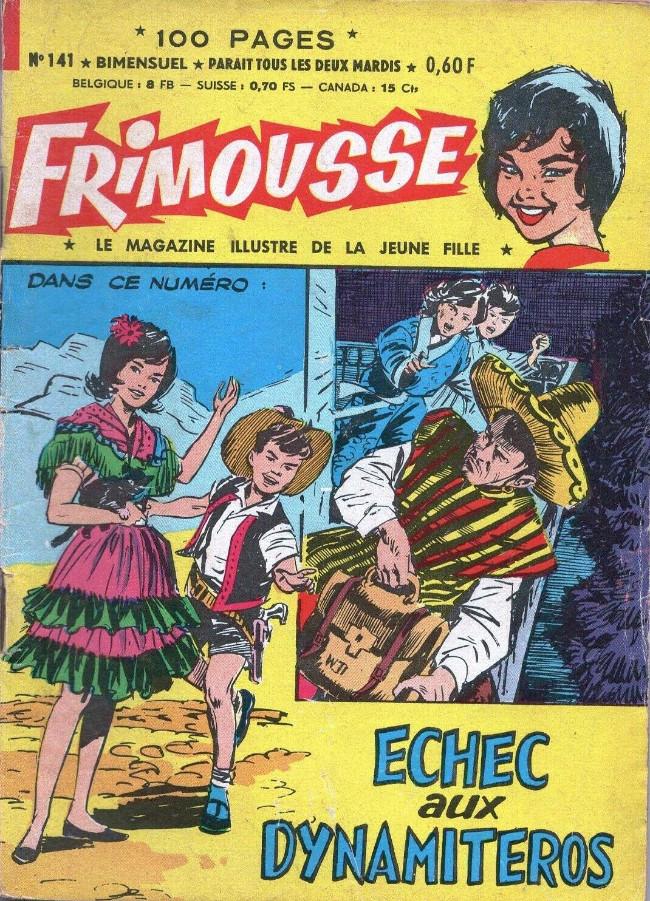 Couverture de Frimousse et Frimousse-Capucine -141- Echec aux dynamiteros