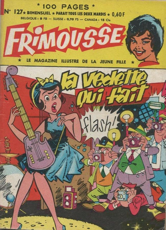 Couverture de Frimousse et Frimousse-Capucine -127- La vedette qui fait flash