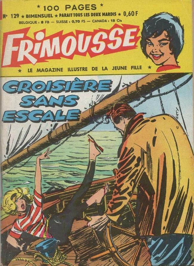Couverture de Frimousse et Frimousse-Capucine -129- Croisière sans escale