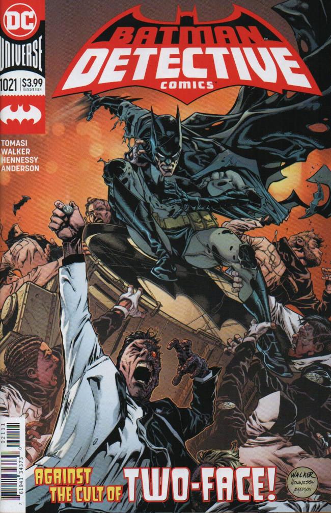 Couverture de Detective Comics (1937), Période Rebirth (2016) -1021- Ugly Heart, Part 2