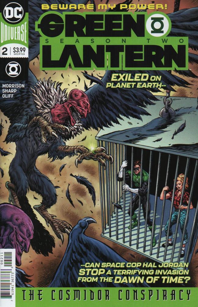 Couverture de Green Lantern - Season Two (The) (DC Comics - 2019) -2- The Cosmidor Conspiracy