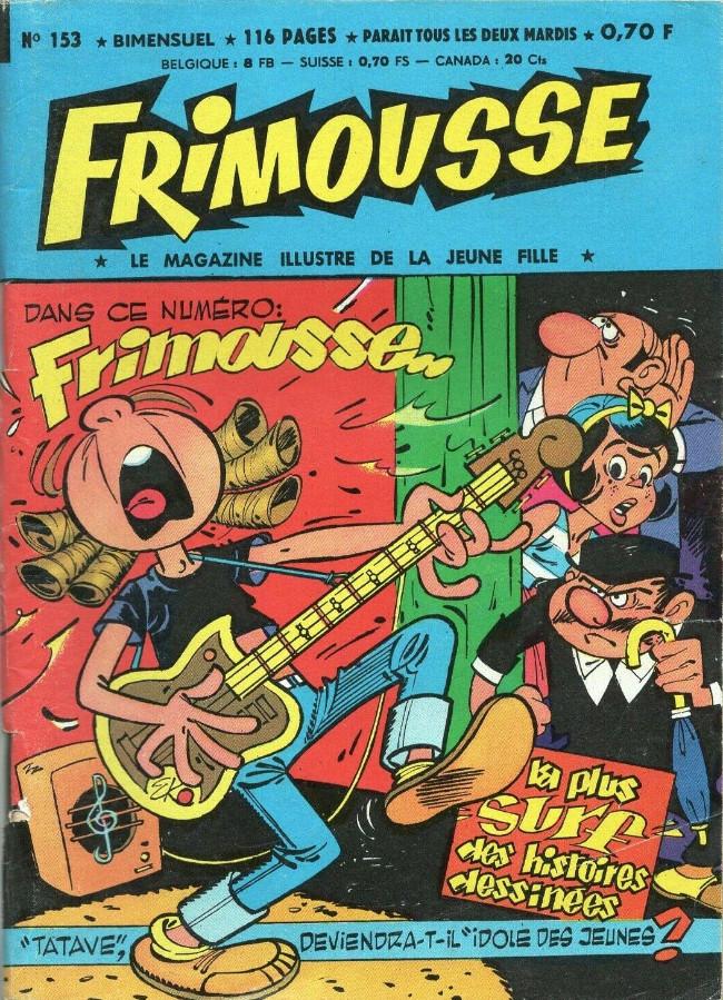 Couverture de Frimousse et Frimousse-Capucine -153- L'amnésique