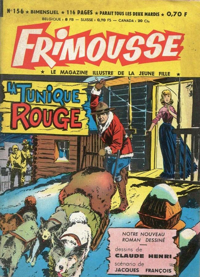 Couverture de Frimousse et Frimousse-Capucine -156- La tunique rouge