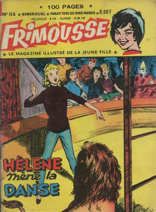 Couverture de Frimousse et Frimousse-Capucine -116- Hélène mène la danse