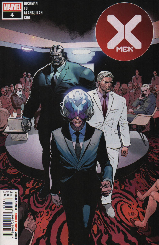 Couverture de X-Men Vol.5 (Marvel comics - 2019) -4- Global Economics