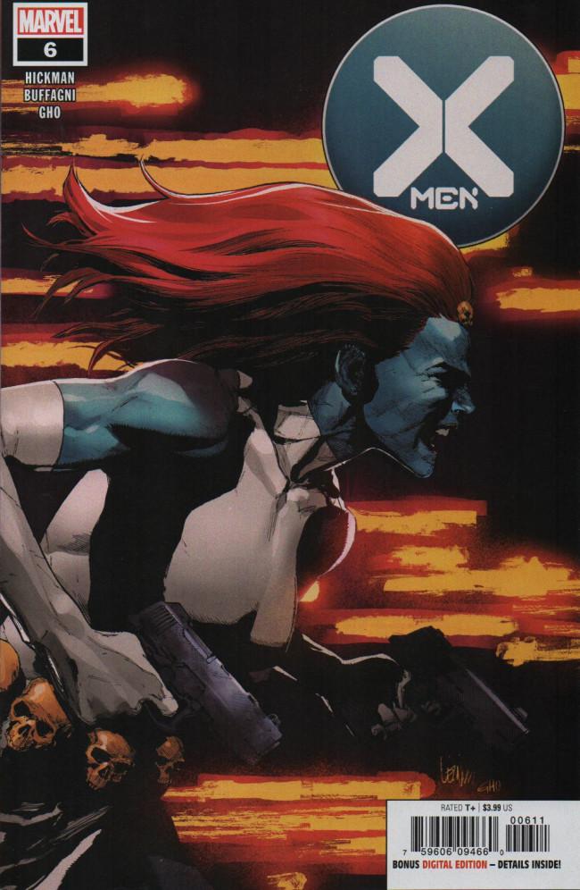 Couverture de X-Men Vol.5 (Marvel comics - 2019) -6- The Oracle