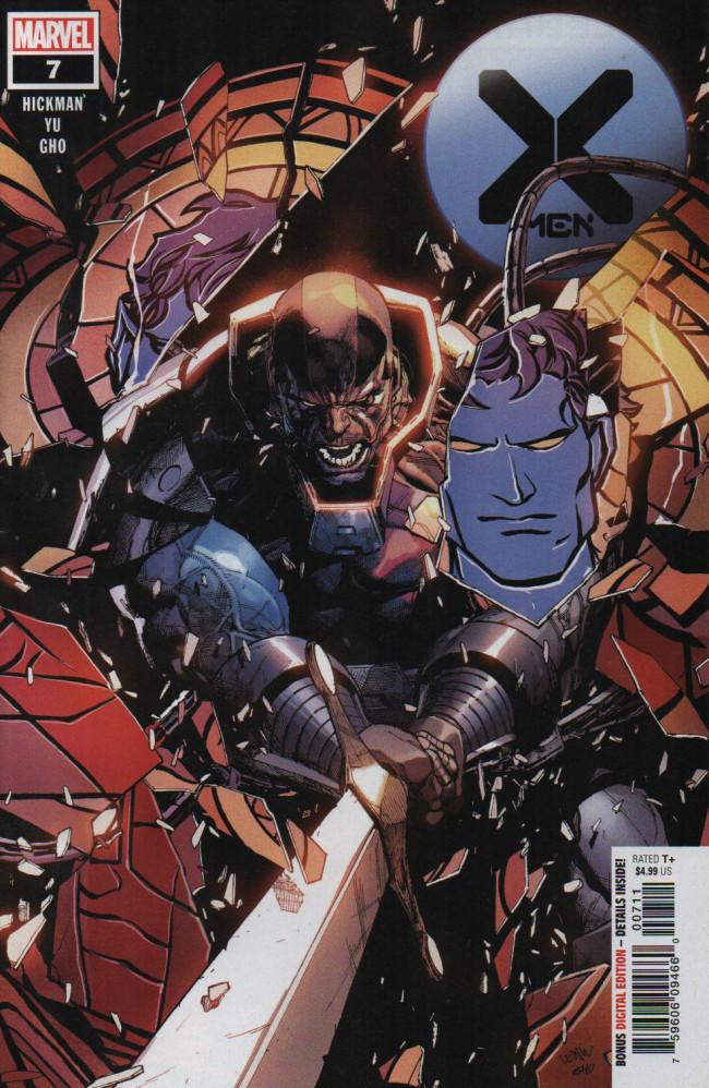 Couverture de X-Men Vol.5 (Marvel comics - 2019) -7- Lifedeath