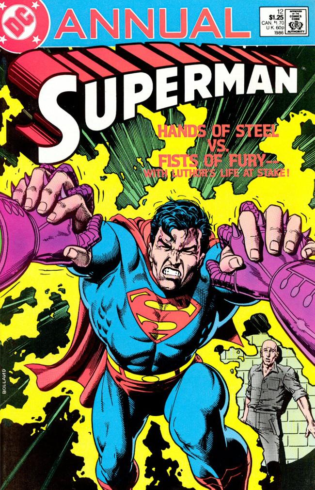 Couverture de Superman (1939) -AN12- Annual 1986