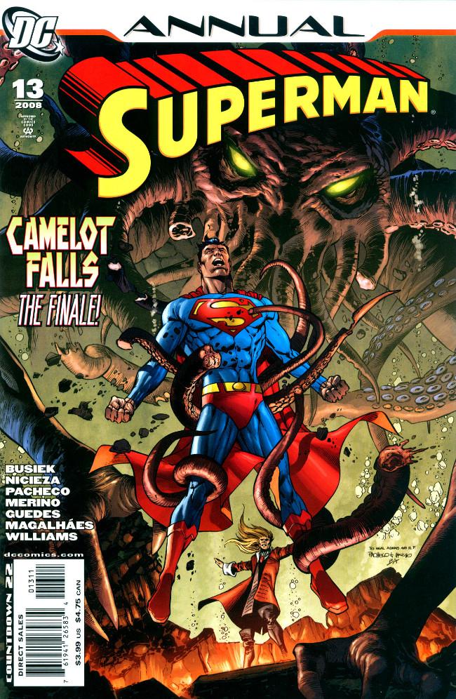 Couverture de Superman (1939) -AN13- Annual 2008