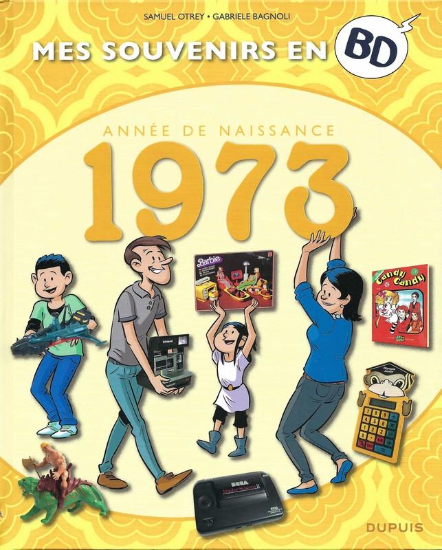 Couverture de Mes souvenirs en BD -34- Année de naissance 1973