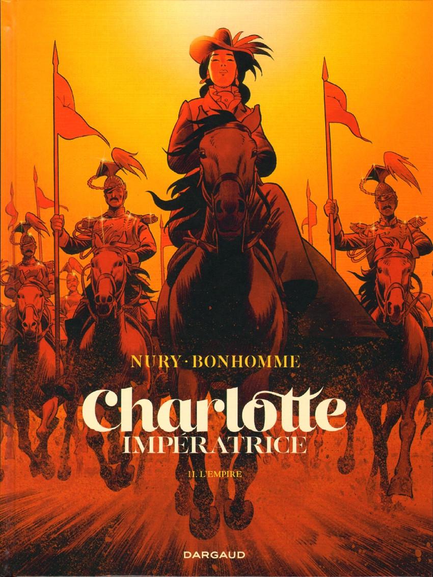 Couverture de Charlotte Impératrice -2- L'Empire