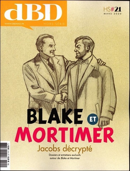 Couverture de Blake et Mortimer (Divers) -HS21- Jacobs décrypté